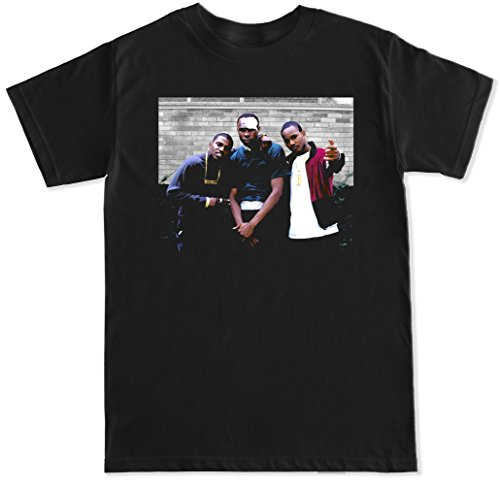 FTD Apparel Men's Paid In Full T Shirt - 3XL Black