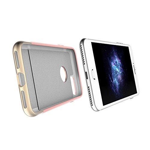 Prodigee [Fit] Rose Gold Rosa Oro for iPhone 7 (2016) 4.7 Cell phone slider case caso caja Carcasa Funda cubierta envoltura cajas del teléfono 2-piece design