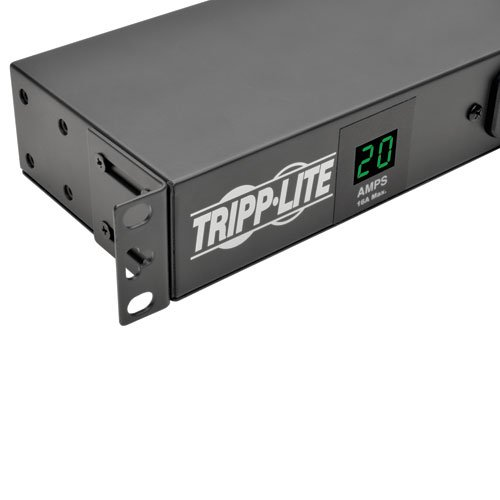 Tripp Lite Metered PDU, 20A, Isobar Surge Suppression 3840 Joules, (12 5-20R, 2 5-15R), 120V, L5-20P/5-20P, 1U Rack-Mount Power (PDUMH20-ISO) by Tripp Lite (Image #3)