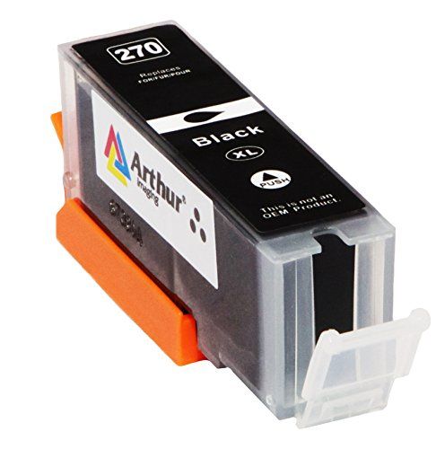 6 Pack Arthur Imaging Compatible Ink Cartridge Replacement for 270XL 271XL (1 Large Black, 1 Small Black, 1 Cyan, 1 Yellow, 1 Magenta, 1 Gray, 6-Pack) Photo #6
