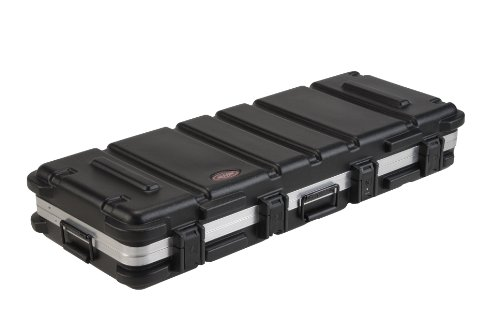 SKB ATA 61-Note Keyboard Case with Wheels, TSA Locking, Trigger Latch by SKB