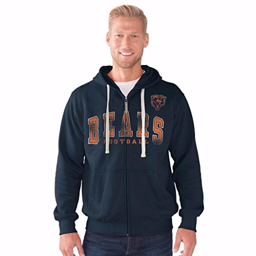 chicago bears hooded sweatshirt - 1