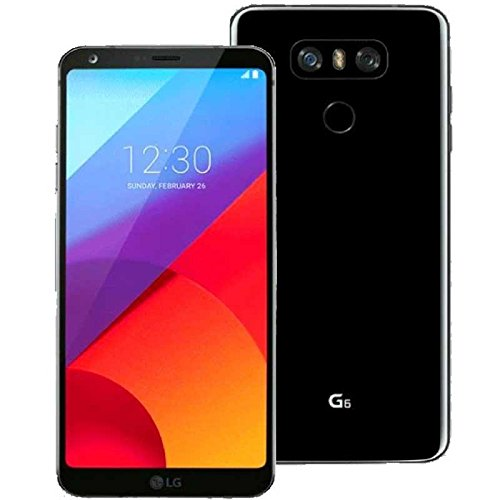 "LG G6 H870 32GB Black, 5.7"", Single Sim, 4GB RAM, GSM Unlocked International Model, No Warranty"