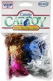Vo-Toy`s Glitter Pom Poms 2 Inch 4 Pack