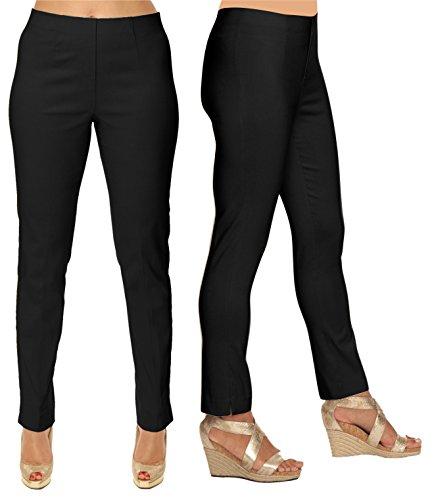 Lior Paris SASHA Essential Slim Fit Ankle Pant (16, Black) by Lior paris