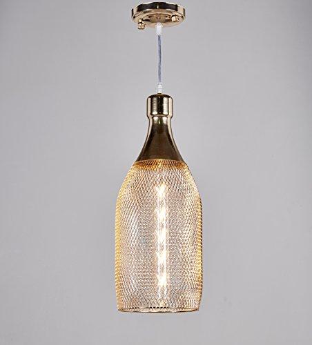Top Lighting 1-light Gold Metal Shade Hanging Pendant Ceiling Lamp Fixture