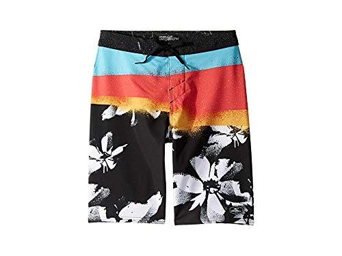 O'Neill Kids Boy's Hyperfreak Elevate Swim Shorts (Big Kids) Black 24 (Big Kids)