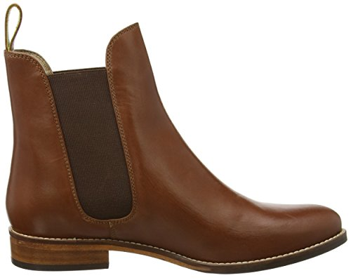 Joules Dames Westbourne Leren Chelsea Boots Donkerbruin