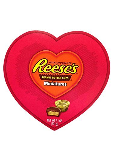 Hershey's Reese's Peanut Butter Cups Miniatures Valentine Heart 7.1 Oz by Hershey's