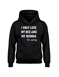 Indica Plateau Only Love My Bed Kids Hoodie