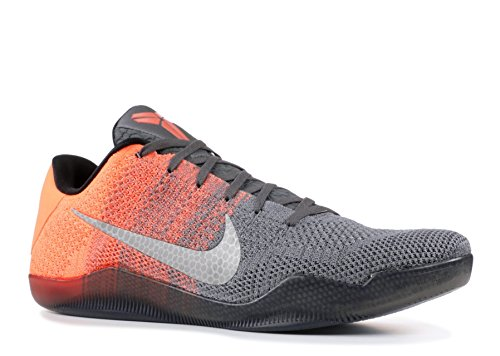 sports shoes 7d8ea 0c961 Galleon - Nike Men s Kobe XI Elite Low (Easter Pack) Drk Grey VLT-Brght  MNG-Crt Purp (11)