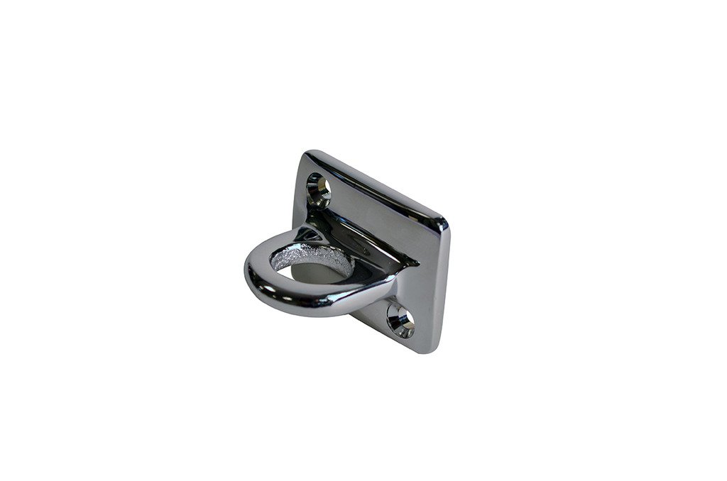 Lawrence metal WALLPLATE-511X-1P Wall Plate 511 Large Loop, Polished Chrome by Lawrence Metal