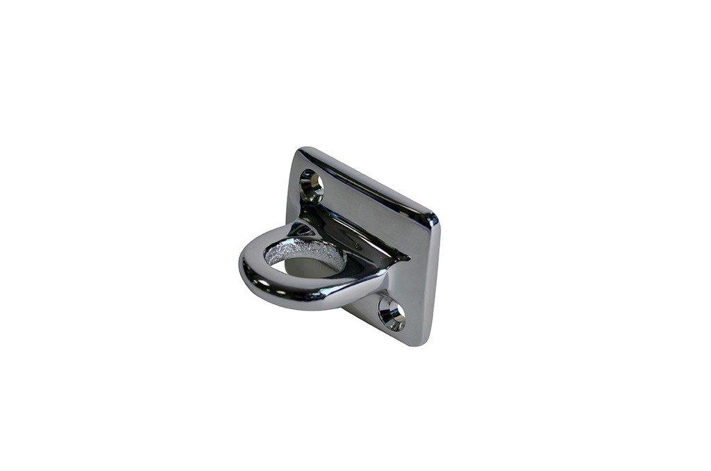 Lawrence metal WALLPLATE-511X-1P Wall Plate 511 Large Loop, Polished Chrome