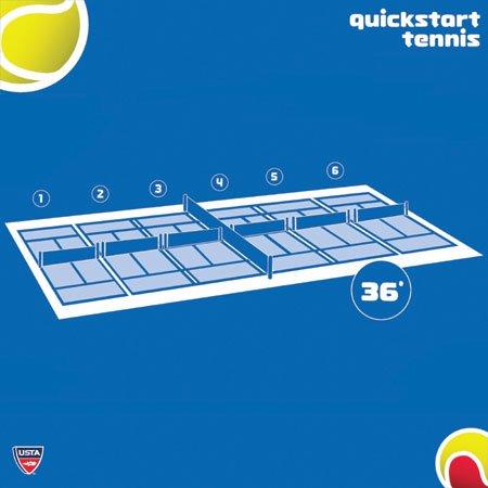 Oncourt Offcourt Quick Start 36'' Red Felt Balls – 60 Ball Bucket