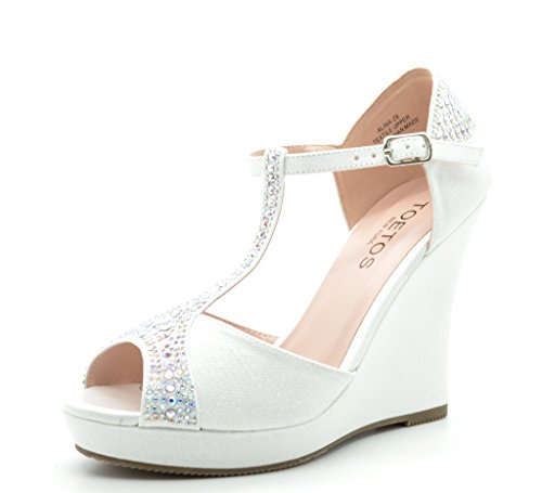 TOETOS ALINA-29 Women's Elegant Classic  - New Platform Wedge Shopping Results