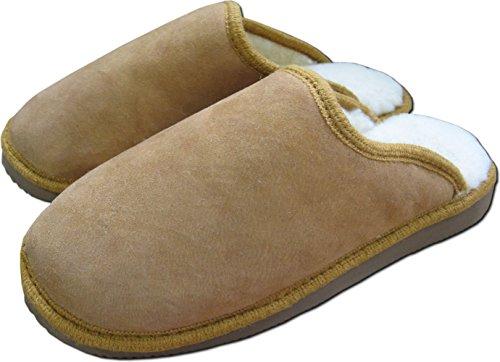 Pantofole pelle di pecora uomo