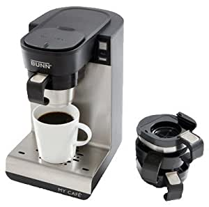 Amazon.com: Bunn-O-Matic MCU My Cafe Single-Cup Brewer, 4 Coffee Machines-In-1 - Quantity 2 ...
