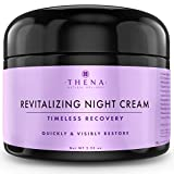 Revitalizing Anti-Aging Night Cream, Natural & Organic Face Moisturizer Facial Cream Rapid Wrinkle