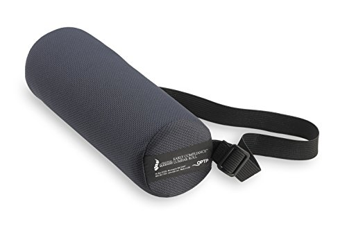The Original McKenzie Early Compliance Lumbar Roll - Low Back Support for Office Chairs and Car Seats