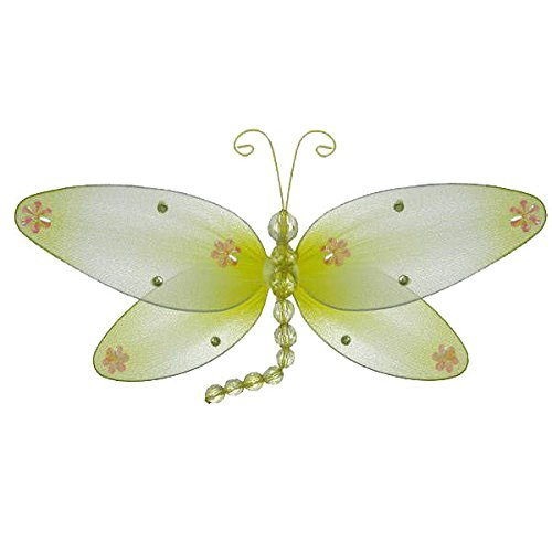 (Taylor Dragonfly Decoration yellow - small-10