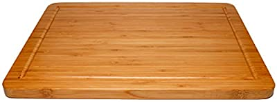 Cutting Board, Bamboo Beautiful, 3/4 Inch Thick with Juice Groove