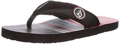 Volcom Vocation Creedlers By Jungen Zehentrenner Rot (Red / Red)