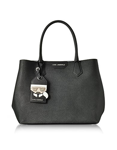Karl Lagerfeld Borsa Shopping Donna 76KW3062NIGHTSKY Pelle Nero