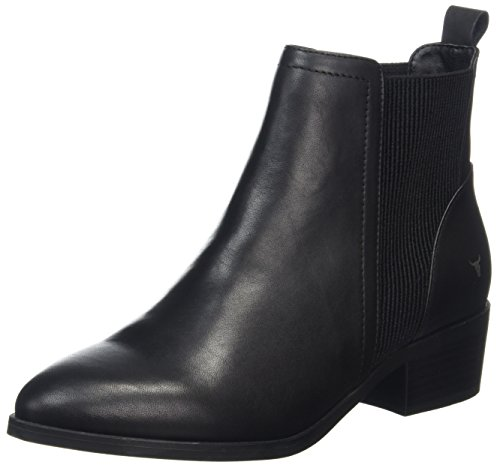Windsor Smith RAF, Stivaletti Donna Nero (Black 001)