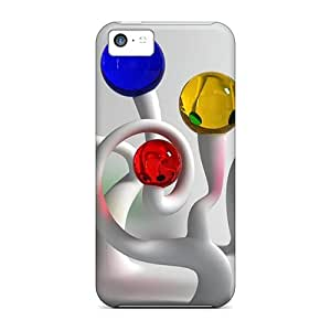 New Arrival Case Specially Design For Iphone 5c (colorful Glass Balls 63)