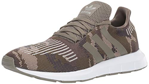 adidas Originals Men's Swift Running Shoe Trace Cargo/White, 7 M -