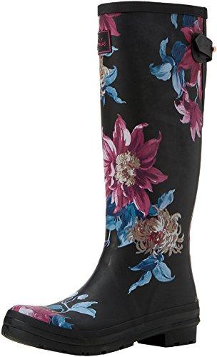 Rain Women's Black Boot Clematis Joules Ajusta HFwn4xEE