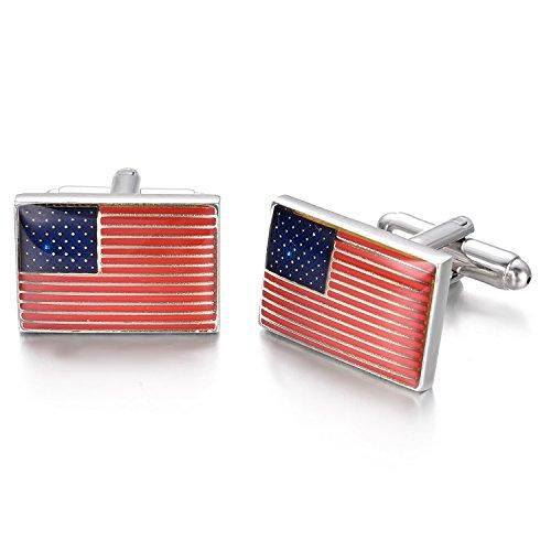 Us Flag Cufflinks - 9