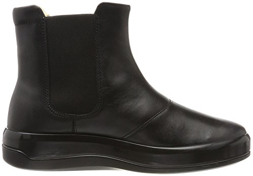 Ecco Ladies Soft 9 Sneaker Alta Nero (nero)