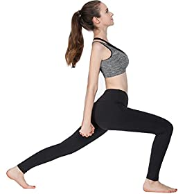 - 41WmjUWSMAL - Women Leggings Power Flex Yoga Pants Workout Running