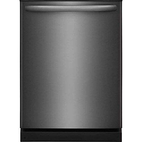 frigidaire black stainless steel built
