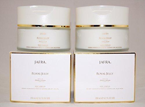 Jafra Royal Jelly Body Complex 6.7 Fl.oz. X 2 Jars