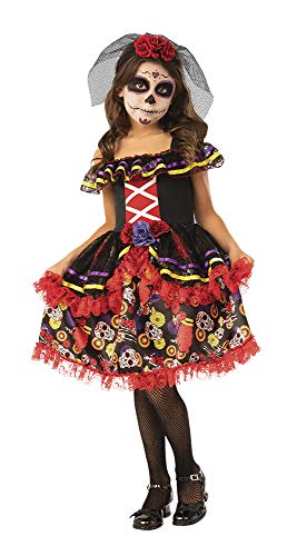 Rubie's Opus Collection Day of The Dead Girl Costume, Large