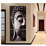 Printed oil paintings landscape The Buddha adornment picture Art Wall Decorative Canvas Print Set Of 3 (no frame) canvas painting 40*60cm*3Panels(16*24inches*3panels) B00K-1000