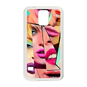 Lipstick Original New Print DIY Phone Case for SamSung Galaxy S5 I9600,personalized case cover ygtg554142