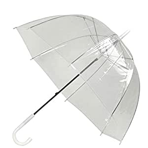 Kicode Transparent Arch Umbrella Apollo Mushroom Shaped