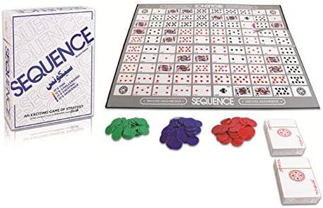 Partido Juegos Secuencia Juego de cartas Juego de estrategia: Amazon.es: Bricolaje y herramientas
