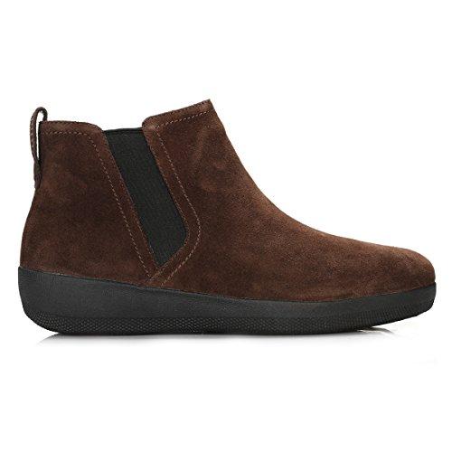 Boot Altas Mujer Tm para Chocolate Fitflop Superchelsea Zapatillas EHwvUHaq