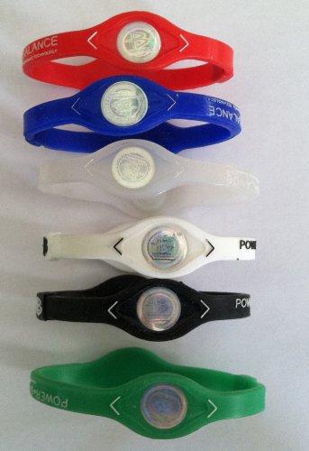 (1 Dozen-Power Balance-Ion Titanium Baseball/Sports Power Bands-CLOSEOUT PRICE )
