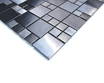 Fußboden Fliesen Mosaik ~ Pvc cv u ac m² bodenbelag mosaik fliesen alu braun cm boden