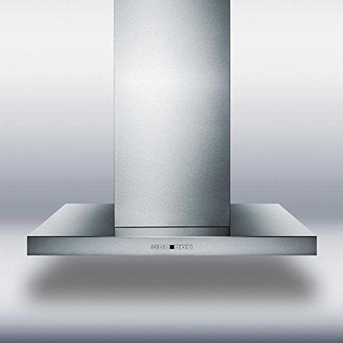 Summit SEIH4648CV4 Range Hood, Stainless Steel by Summit