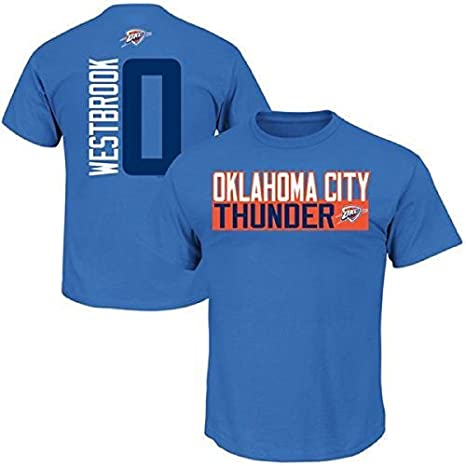 ea9e22464c3 Russell Westbrook Oklahoma City Thunder #0 NBA Men's Vertical Player T-shirt  (XXL