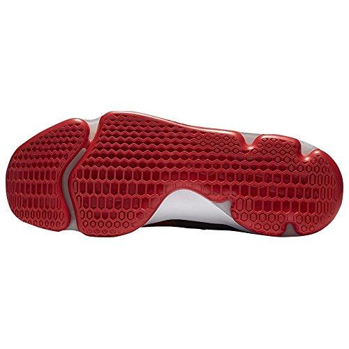 NIKE Mens KD9 Basketball Shoe (University Red/White-Black, 9 D(M) US)