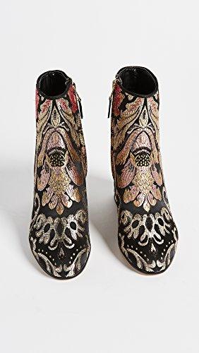 Black Stiefel Edelman Multi Venezia Jacquard Metallic Damen Taye Sam Kurzschaft RIXqR4