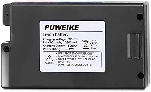 Battery for P80 pro Puweike Cordless vaccum Cleaner