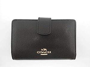 93ad85313ab9 ... Coach Crossgrain Leather Medium Corner Zip Wallet
